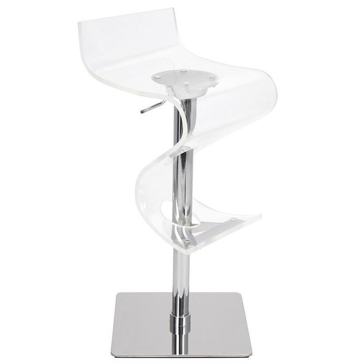 LumiSource BS-VIVA ACR C Viva Acrylic Bar Stool  sc 1 st  Pinterest & Best 25+ Acrylic bar stools ideas on Pinterest | Acrylic counter ... islam-shia.org