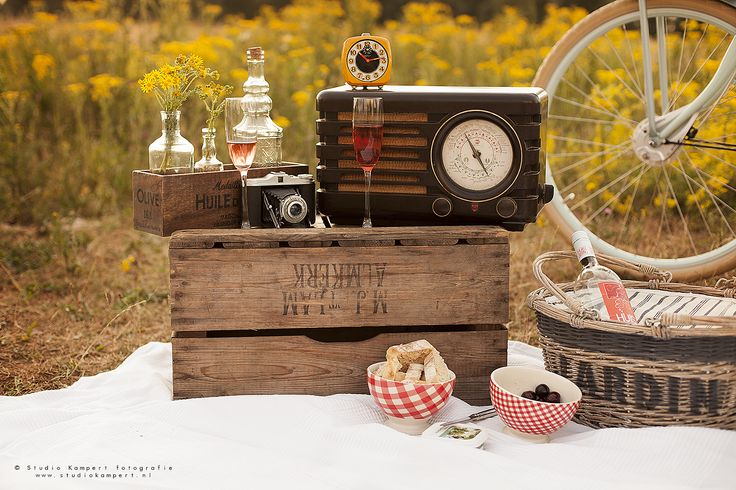 Vintage photoshoot by studio kampert. Love, picknick photoshoot in the golden hour,