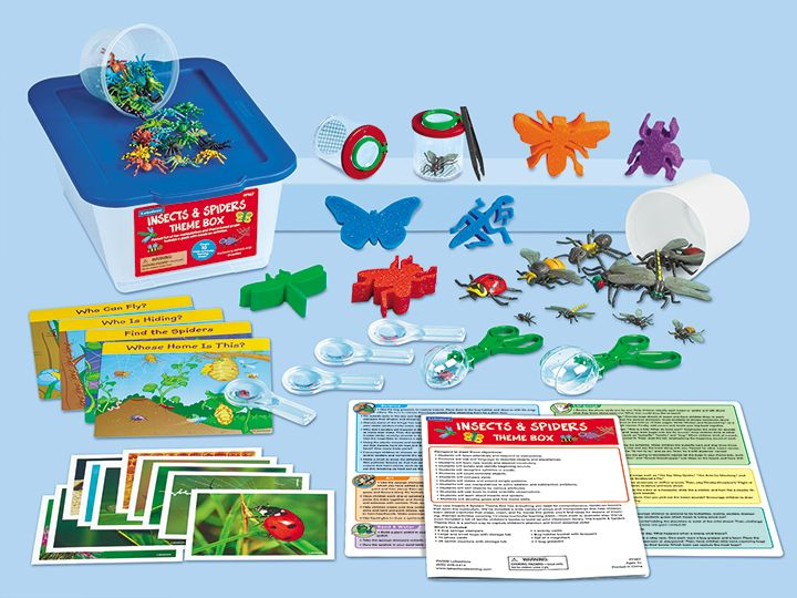 Charming Insects U0026 Spiders Theme Box At Lakeshore Learning