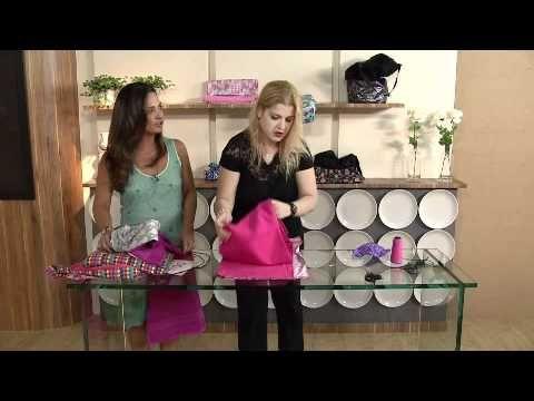 Sucesso do verão: Bolsa toalha - YouTube