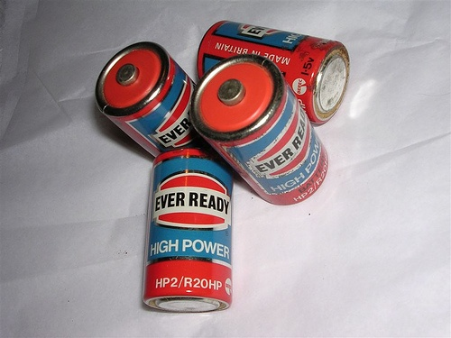 Ever Ready batteries - the days before Duracell. Needed these for all sorts of toys...