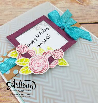 Sootywing Studios: Fun and Bright Birthday Cards: Stampin' Up! Artisan Blog Hop