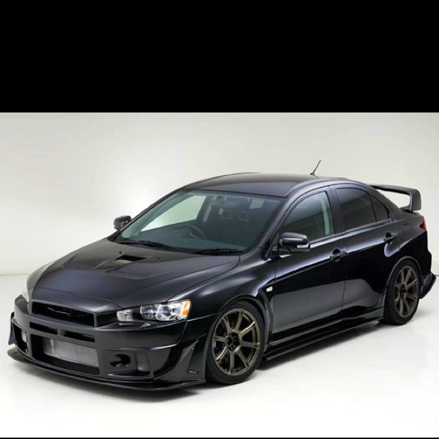 dream car... lancer evo...