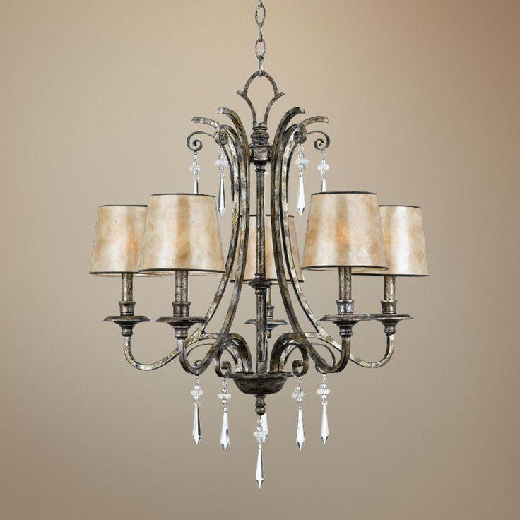 11 best old world chandeliers images on pinterest chandeliers kendra silver finish 5 light chandelier aloadofball Images