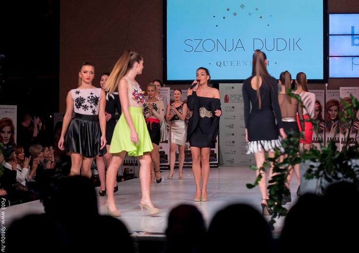 SZONJA DUDIK fashion show in MOSZI 2016 Dream December collection