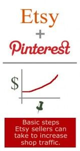 GREAT Pinterest Tips to Increase Etsy Shop Traffic