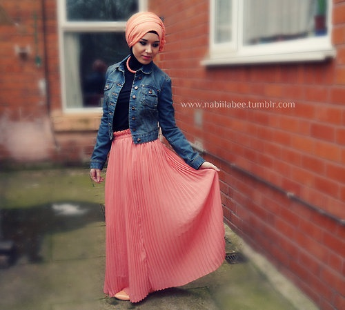 Nabiilabee Spring Ootd Hijab Style Hijab Style Pinterest Spring Hijab Styles And Style