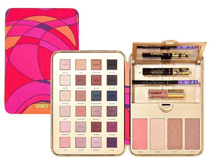 TARTE HOLIDAY 2016 PRETTY PAINTBOX COLLECTOR'S MAKEUP CASE | $59.00 | LIMITED EDITION