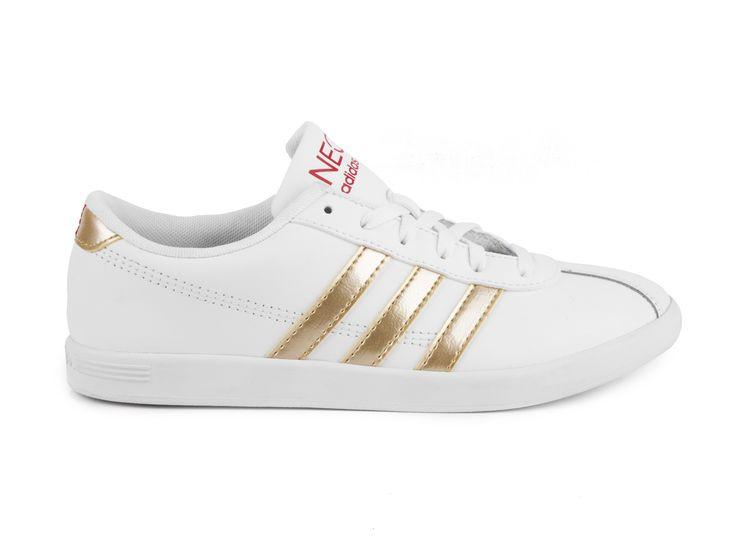 Adidas Neo - Tenisky Vlneo Court W Q26281 / bílo-zlatá
