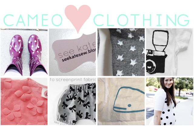 see kate sew: CAMEO ♥ clothing series wrap-up!