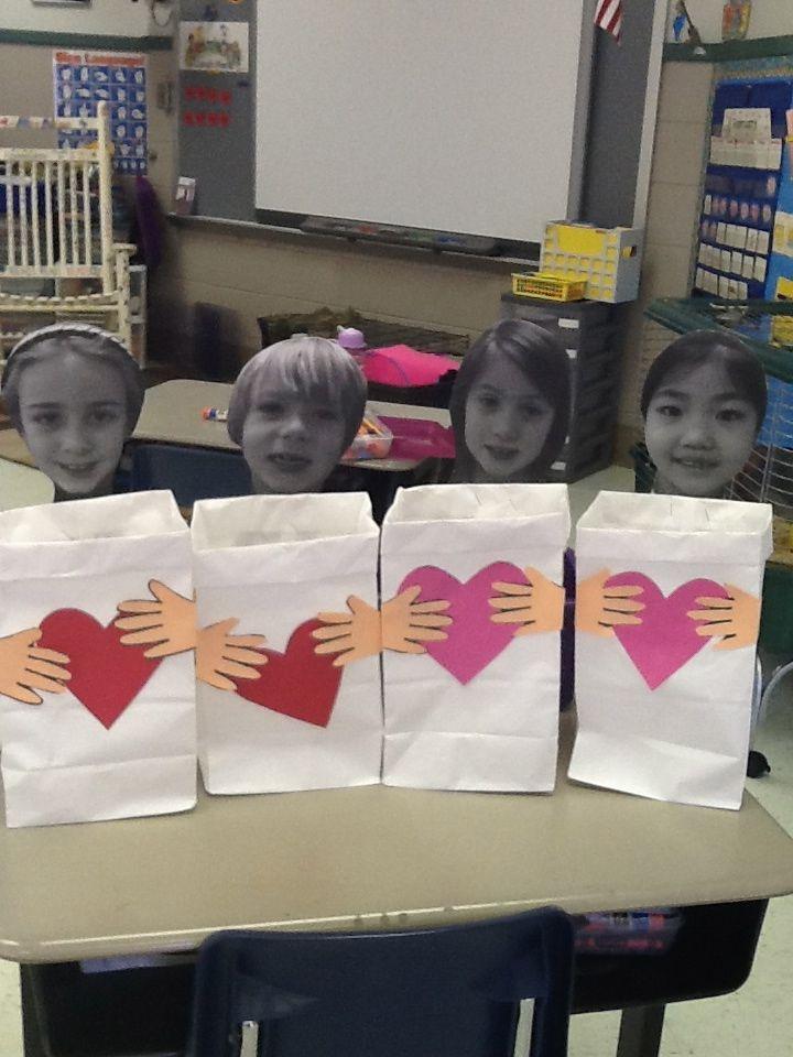 Valentine Bags For Kindergarten : Best images about bricolage de st valentin on