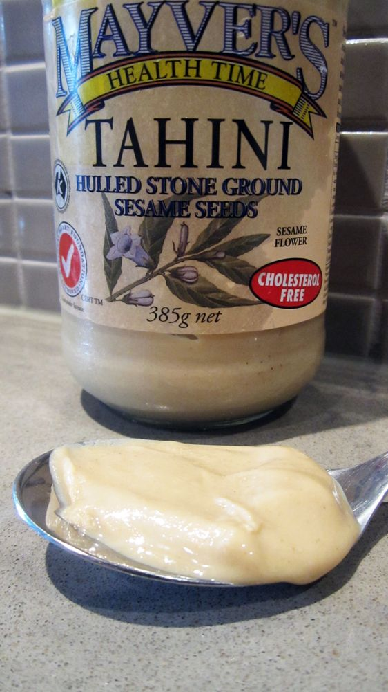 What is Tahini / Sesame Paste / Sesame Butter?