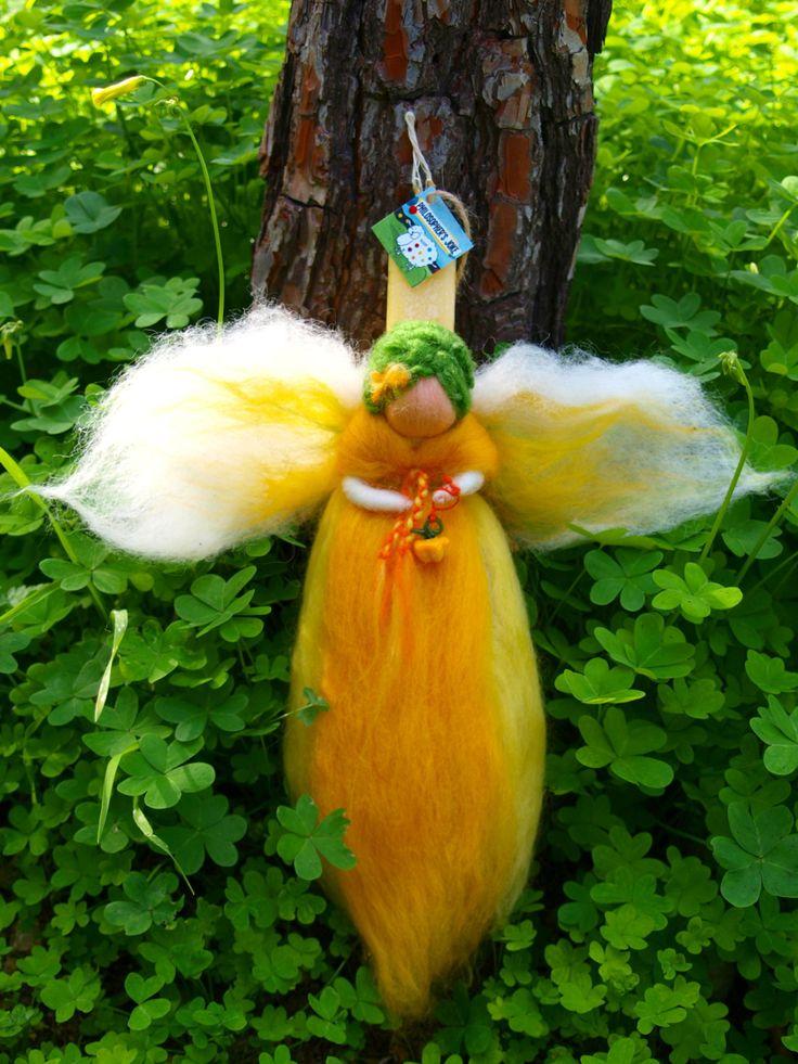 Yellow pepper fairy by Philosopher's Joke.