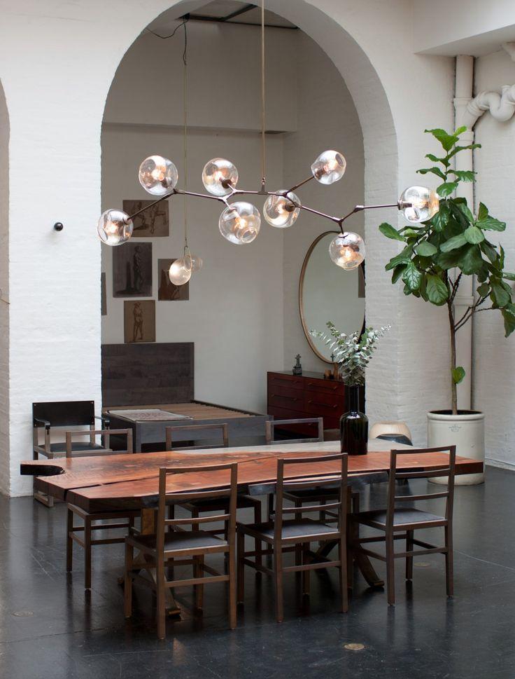 Furniture branching bubble 8 bddw lighting for Dining room globe lighting
