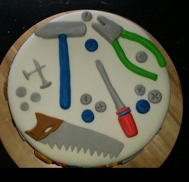 Fondant Werkzeug Torte