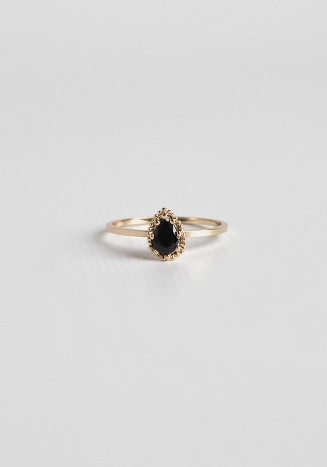 Promise The Moon Ring In Onyx