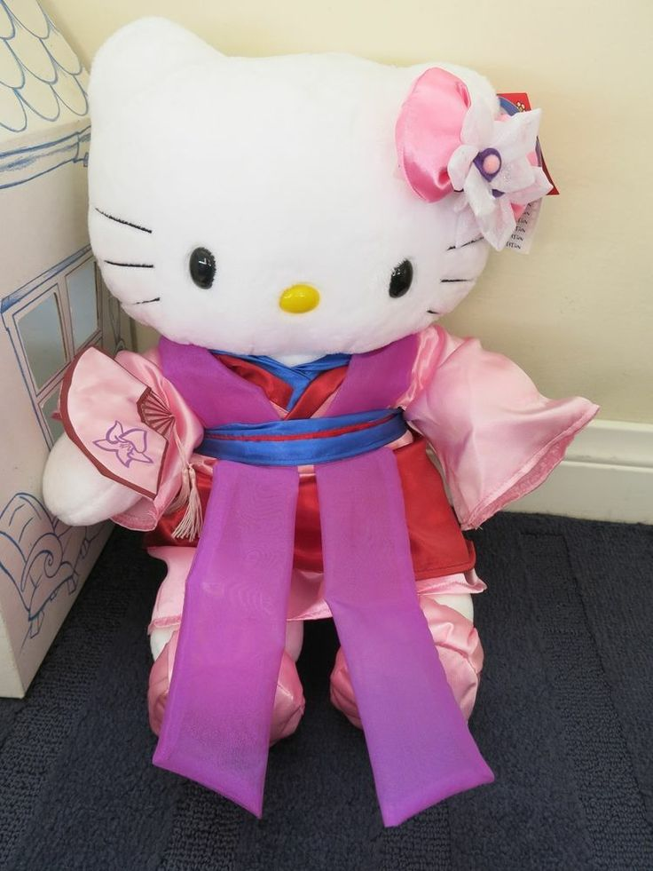 Limited edition build a bear 17 hello kitty white disney - Princesse kitty ...