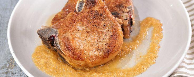 Sauerkraut Braised Pork Chops