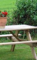 Les 25 meilleures id es concernant plans de table de pique nique sur pinteres - Fabriquer table picnic ...