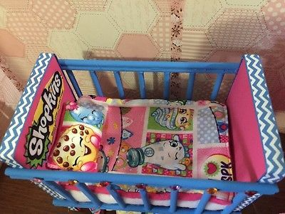 Barbie Baby Nursery Set Furniture Crib Sofa Carrier Kins