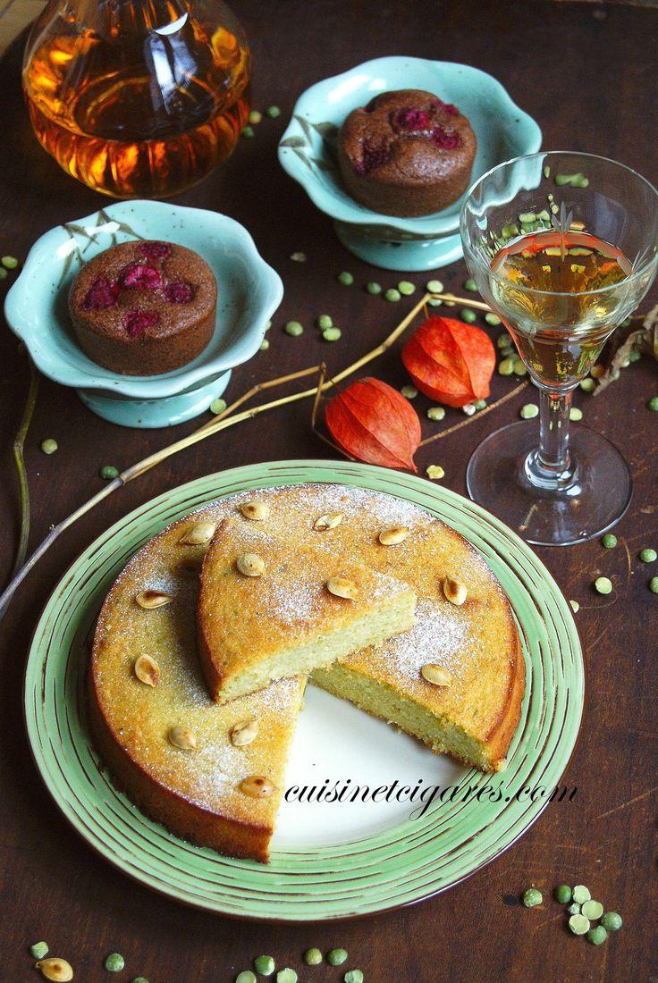 Gâteau Moelleux à la Pâte de Pois Cassés, gluten free