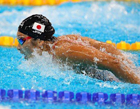池江の力泳 :フォトニュース - リオ五輪・パラリンピック 2016:時事ドットコム