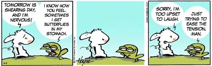 The Barn by Ralph Hagen on Creators.com. I loooove this comic!
