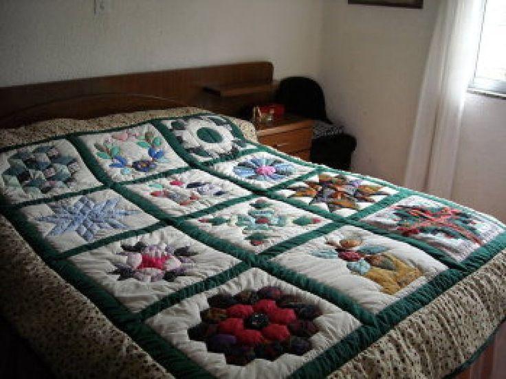 colchas, edredones en patchwork | ... la colcha de CHANYSGH , también tiene bonitos estampados de cuadros
