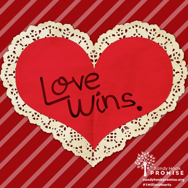 This Valentine's Day, join the #1MillionHearts for Newtown. Send a valentine to show your love and support: 1millionhearts.sandyhookpromise.org