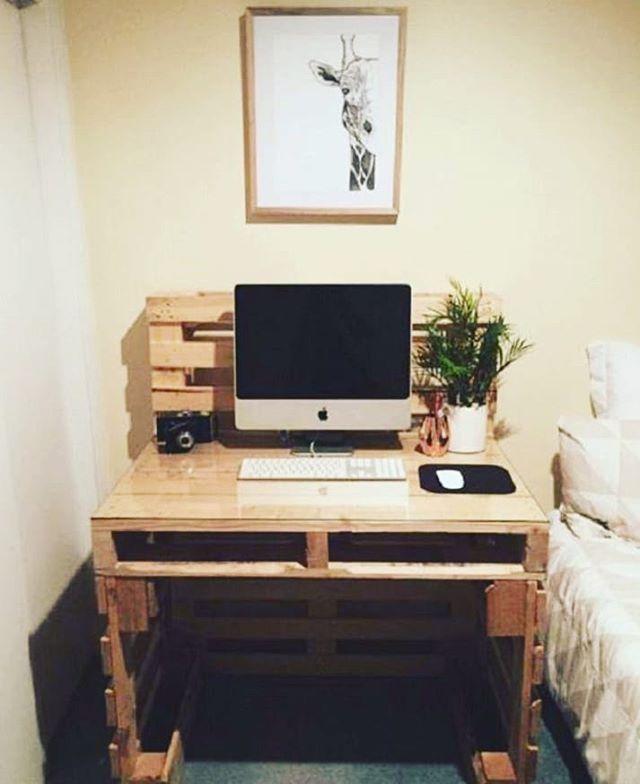 Como fazer uma escrivaninha de pallet
