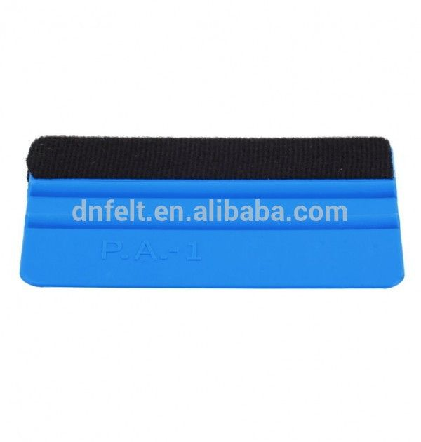 10mm thick 100% wool felt squeegee for industry