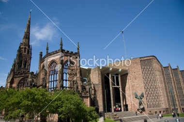 Coventry Cathedral - old and new