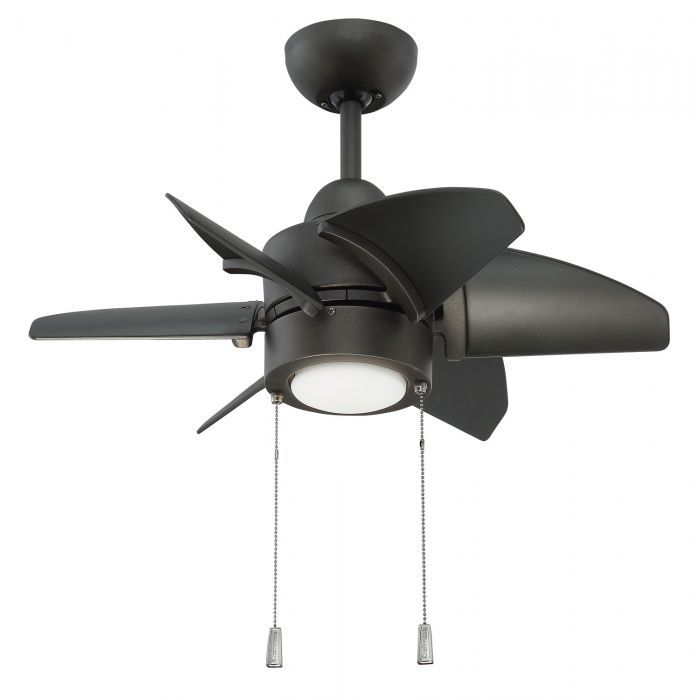 Craftmade lighting propel espresso led ceiling fan with light at destination lighting