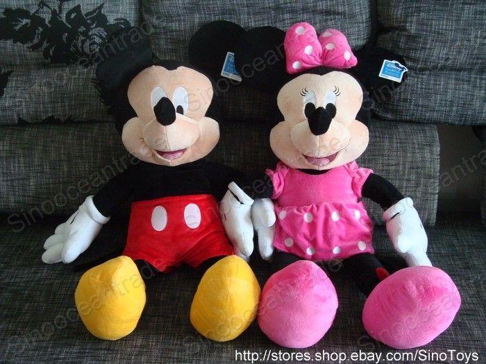 "Disney Animal Mickey Mouse Jumbo Giant Plush Toy 35"" AU   eBay"