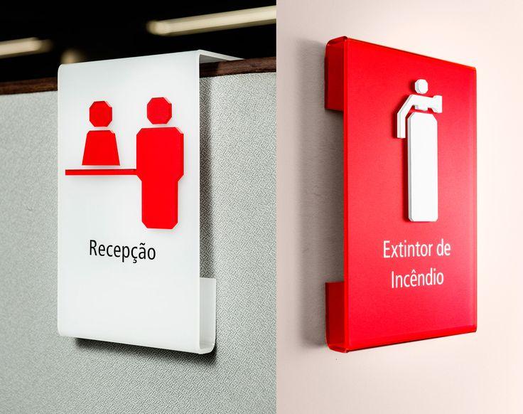Sinalização Mendes Júnior | Greco Design