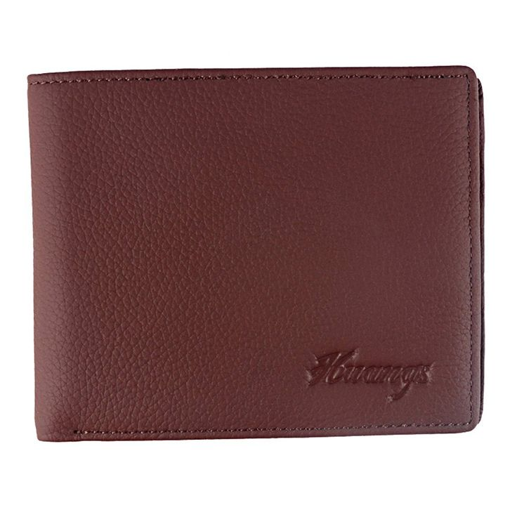 Men's Leather Bifold Wallet Flip Up ID Window With Gift Box *** Check out the image by visiting the link.