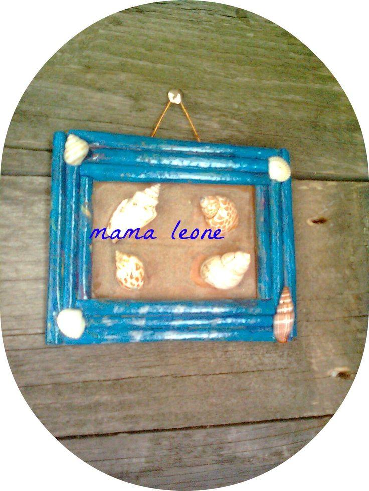 nautical  inspiration , paper frame