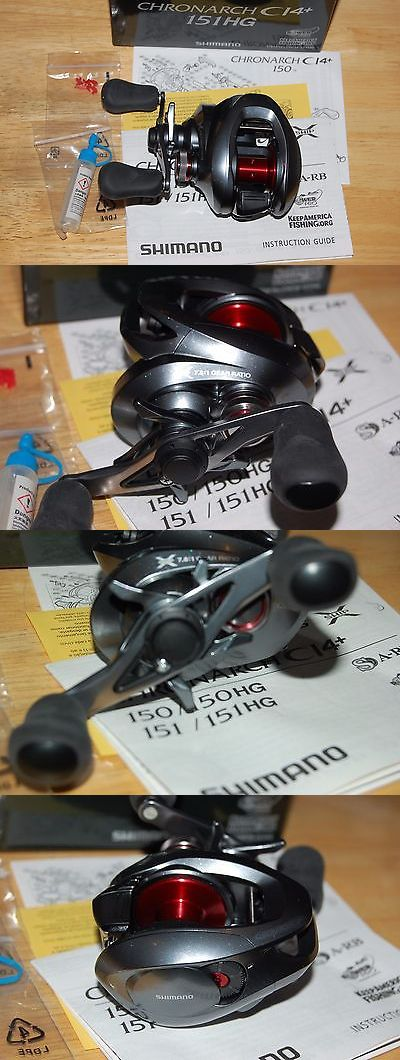 Baitcasting Reels 108153: Shimano Chronarch Ci4+ 151Hg 7.6:1 Fishing Reel Left Handed Saltwater Freshwater BUY IT NOW ONLY: $239.95