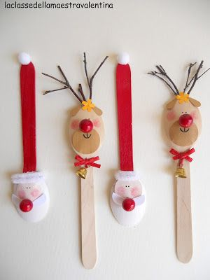 321 best plastic spoon crafts images on pinterest for Lavoretti con abbassalingua