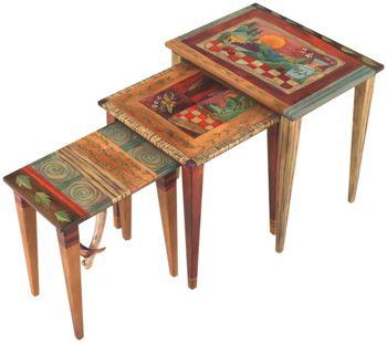 Sticks Nesting Tables 1366 by Sticks   Sticks Furniture, Home Decorative Accents