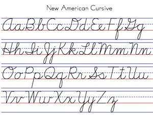 Worksheets Pinakatay Alphabet the 25 best ideas about cursive chart on pinterest alphabet learn write cursive