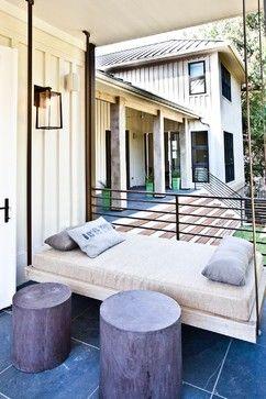 Porch Modern Farmhouse Design Ideas, Pictures, Remodel, and Decor