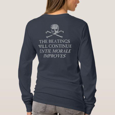 Puke & Snot  'The Beatings Will Continue'.... T-Shirt - tap, personalize, buy right now!
