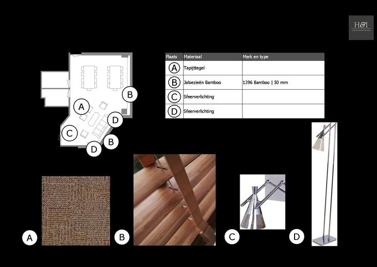 Advise window decoration, flooring and lighting