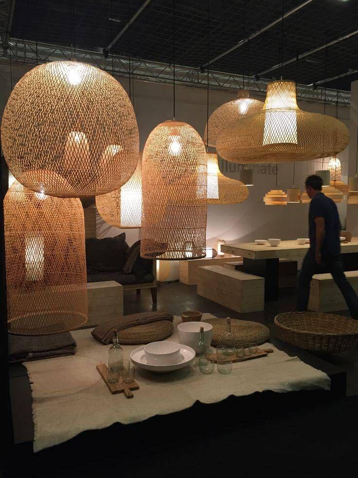 Ay Illuminate Lampe Suspension Bambou Twiggy Egg Natural O60cm Ay Illuminate Interior Lighting Lamp Design Home Lighting