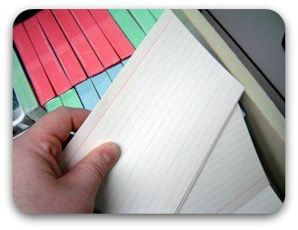 Cue cards: simple step-by-step guidelines for preparing note cards to help you deliver your   speech effectively. Useful public speaking info