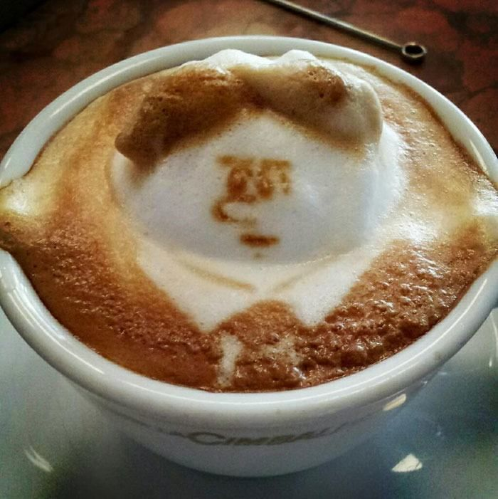 The Fat Latte Guy  The Incredible 3D Latte Art By Kazuki Yamamoto Will Amaze You All • Page 6 of 6 • BoredBug