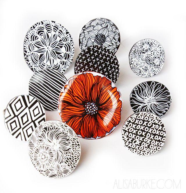 Anillos de plástico mágico / Shrink plastic rings