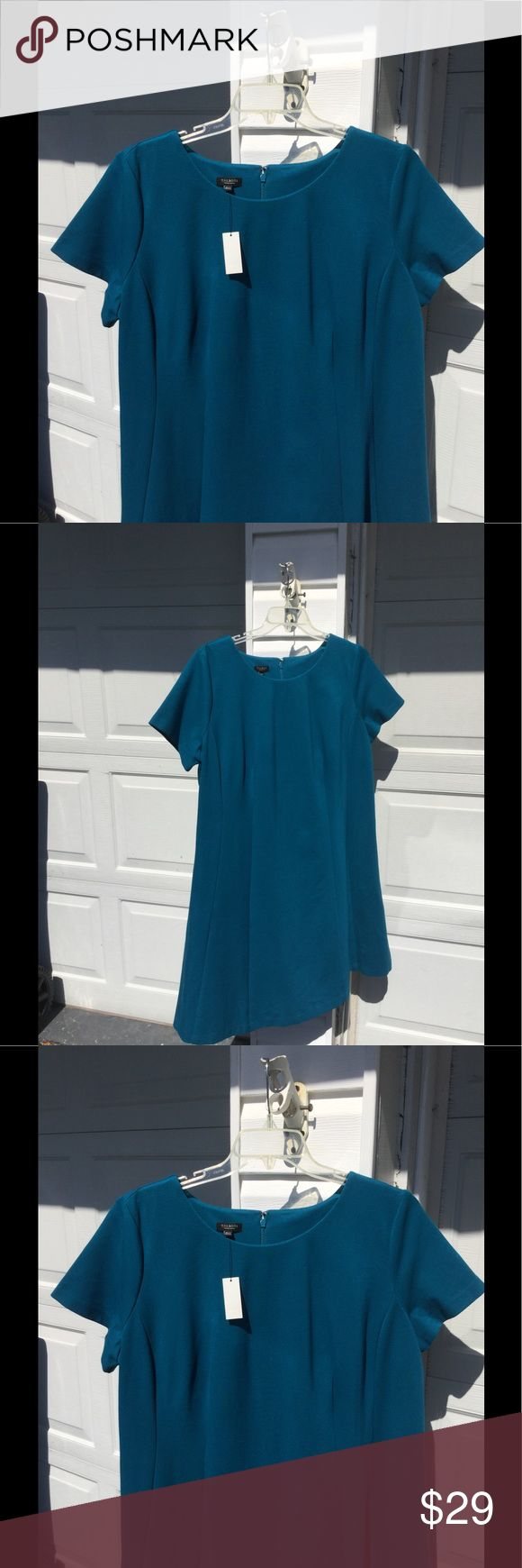 "NWT Talbots Classic Teal Blue Dress 18W Petite L So cute and classic! NWT Talbots Teal Blue short sleeve dress, 18W Petite Length. Bust 48"", length 38"". This will take you anywhere! Originally $149. Enjoy! Talbots Dresses Midi"