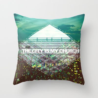 M83 - Midnight City Throw Pillow for bedroom decor ideas - $20.00